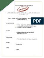 Informe- Negocios Internacionales