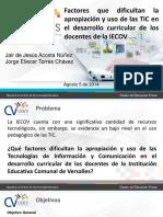 Presentacion Diagnostico Dificultades Uso de Tic Iecov 2014