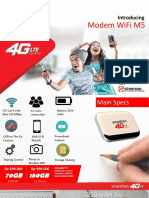 Product Brief Modem WiFi M5 1.5