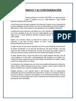 Rio Pilcomayo y Su Contaminacion