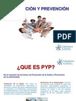 A. Presentacion Del Programa Promocion y Prevencion