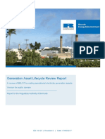BELCO Generation Asset Lifecycle Review Report- Public