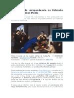 La Mitificada Independencia de Cataluña Durante La Edad Media