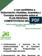 Plan Regional de Competitividad Del Huila - Camara de Comercio Neiva (1)