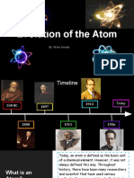 the evolution of the atom