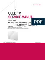 Manual Servico TV LG OLED55E6P Chassis EA62E