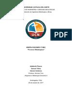 Informe extractiva