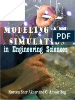 Modeling and Simulation in Engineering Sciences