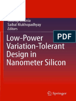 Low-Power Variation-Tolerant Design in Nanometer Silicon (Bhunia) [2010]