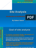 Site Analysis Example (1)