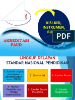 4. KISI-KISI, INSTRUMEN, RUBRIK AKREDITASI PAUD.pptx