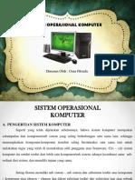 Sistem Operasional