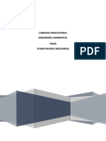 La Economía Del Cambio Climático (Resumen)