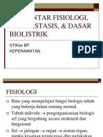 PENGANTARFISIOLOGIHOMEOSTASISDASARBIOLISTRIK