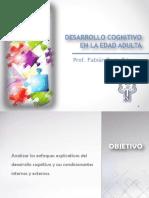 2.0 Desarrollo Cognitivo en La Adultez Temprana