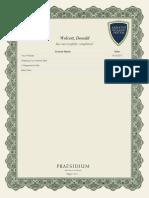 Safeguarding God's Children Certificate
