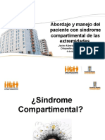 Abordaje y Manejo Del Paciente Con Sindrome Compartimental de Las Extremidades