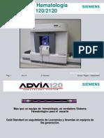 Principios Operativos Analizador Hematológico Siemens Advia 120-2120 (Español)