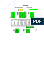 Program Excel