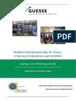 Greek Report 2013 GUESSS