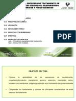 Tema 12. Tratamientos Quimicos y Fisico-quimicos