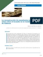 La Reconstruccion de Expedientes Judiciales_ Unas Notas Sobre El Incendio en La Ciudad de Justicia de Valencia 9004