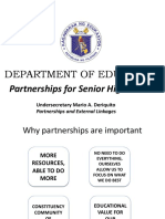 12 Partnerships for Senior High School