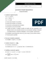 Trigonometria e Funções Trigonométricas - TESTE