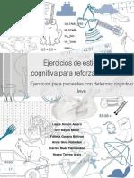 Varios - Ejercicios de estimulación cognitiva para reforzar la memoria.pdf