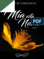 Mia Esta Noche - Flor M. Urdaneta