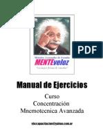 Manual de Ejercicios de Memoria
