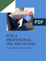 Etica Del Psicologo Asignacion I Casi Terminado