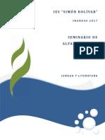 Seminario de AA Lengua y Literatura en PDF 2