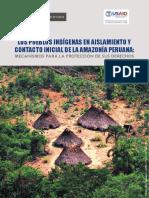 Pueblos Indigenas en Aislamiento y en Contacto Inicial