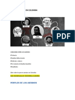 Asesinos colombianos