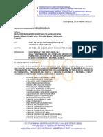 Carta N° 005-2017-Z&G MUNI MIRACOSTA DE LIQUIDACION DE OBRA COMPLEJO DEPORTIVO