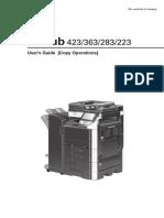 Impresora Minolta 363