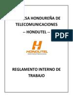 Empresa Hondureña de Telecomunicaciones-reglamento Interno de Trabajo.