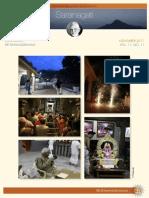 Saranagathi ENewsletter November 2017