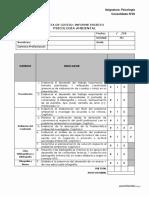 Ficha de Evaluación Del Proyecto de Investigación Ambiental