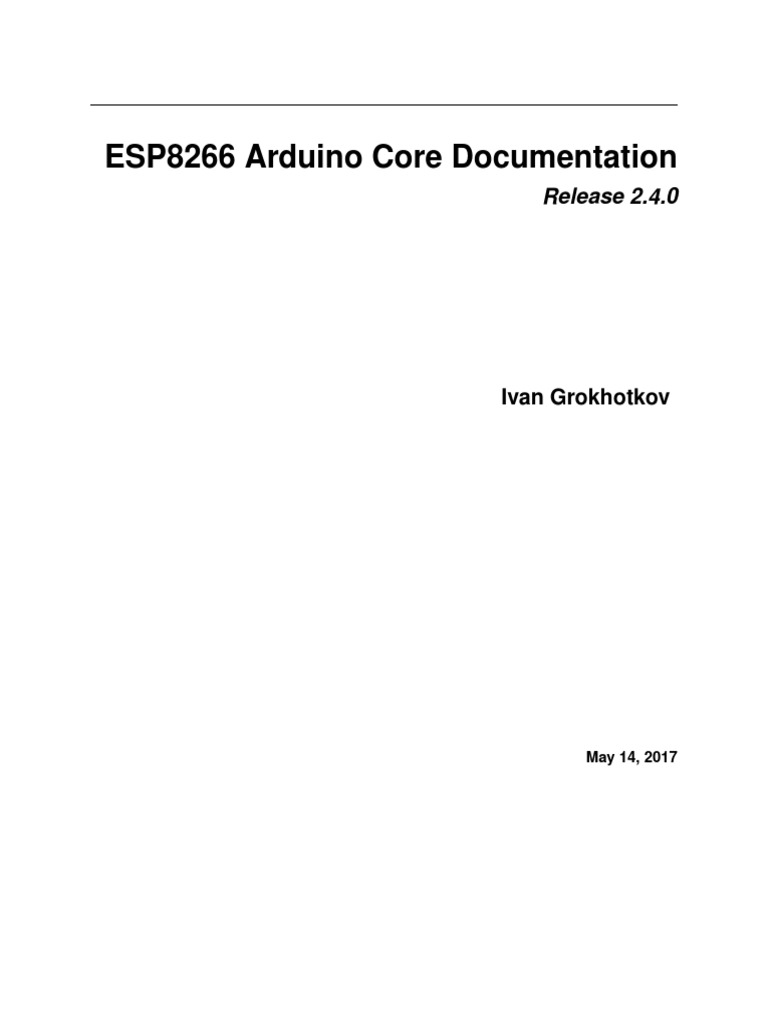 Arduino Esp8266 | File System | Filename