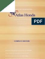 Presentation Atlas Honda