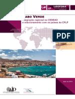 2 Cabo Verde Nigeria Cedeao Cplp