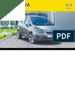 Instrukcja Opel Meriva II 2013