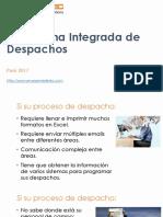 Plataforma Integrada de Despachos v1.0 - ERAMOBILETEC