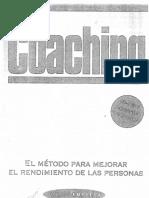 Coaching-el Metodo Para Mejorar El Rendimiento de Las Personas