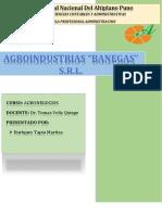 Agroindustrias Banegas Final