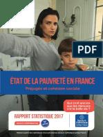 Rapport du secours catholique sur la pauvreté en France