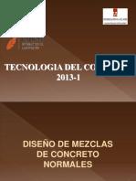 DISEÑO MEZCLA - TEORIA