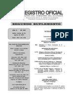 Registro Oficial 319 Norma Ecuatoriana de La Construcción